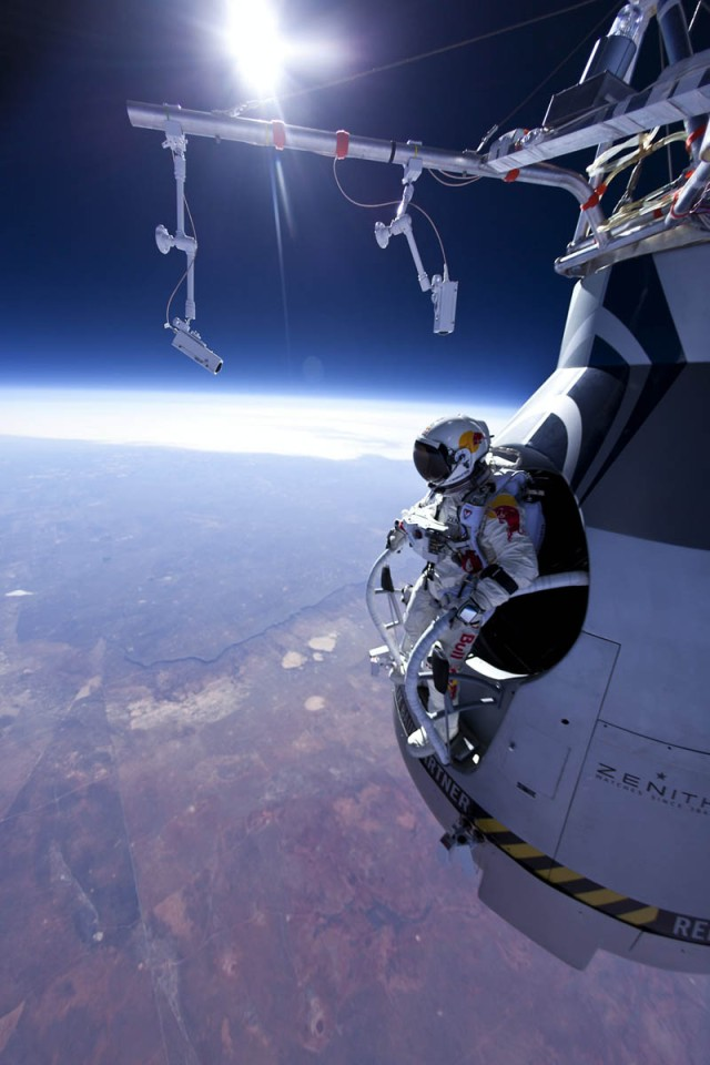Felix Baumgartner (AUT) - Manned Flight One